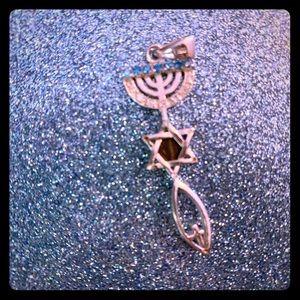 Jewelry - Messianic Jewish silver pendant (925) BNIB